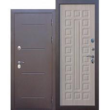 Дверь мет. Изотерма Медный антик Лиственица МОККО 860R
