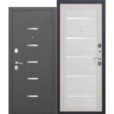 Дверь металлическая GARDA Муар ЦАРГА Лиственница беж 860L