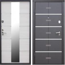 Дверь металлическая ALTATECH  Белый Ясень 970L