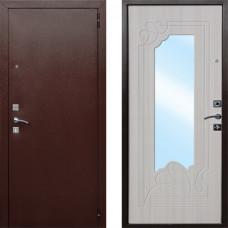 Дверь металлическая AMPIR Беленый дуб 860L