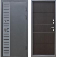 Дверь мет. Изотерма Серебро Венге 860L