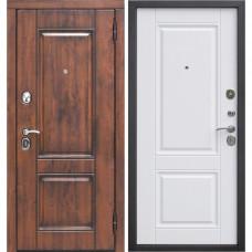 Дверь металлическая ВЕНА Vinorit Патина МДФ Грецкий орех 860R