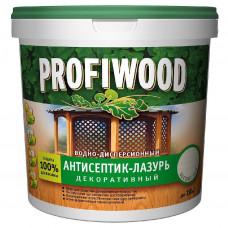 """Антисептик """"Profiwood"""" 2,4кг дуб 0865 лаковый тонирующий атмосверостойкий алкидный"""