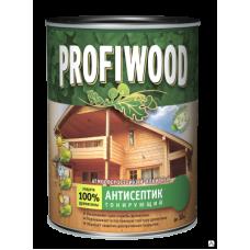 """Антисептик """"Profiwood"""" 0.7кг бук 0612 лаковый тонирующий атмосферостойкий алкидный"""