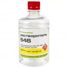 Растворитель 646 ГОСТ 0,5л  ПЭТ (Реактив)