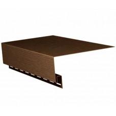 Планка околооконная 3050*1,1 (1уп=10шт) (темно-коричневый)