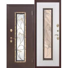 Дверь металлическая ALTATECH  Белый Ясень 860R