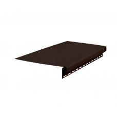 Доска карнизная+J 3050*1,1 (1уп=10шт) (темно-коричневый)