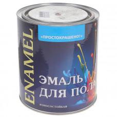 """Эмаль д/пола """"Простокрашено"""" желто-коричневая 1,9 (7910) 60258"""
